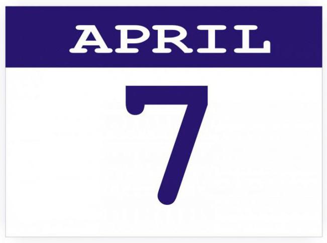 7 aprile