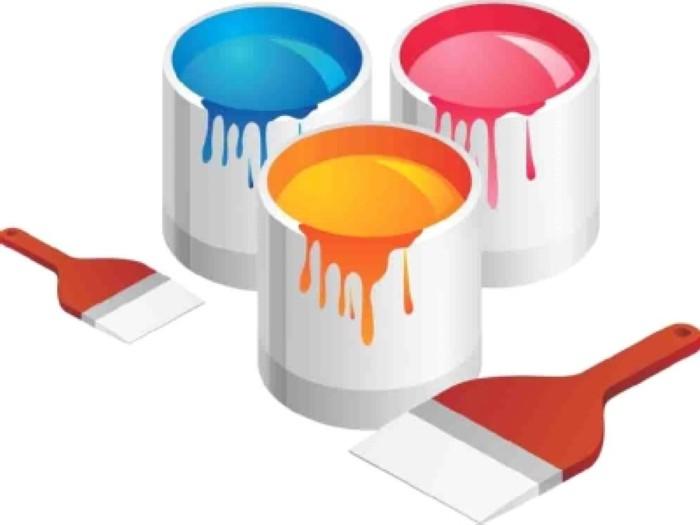 Vernice all'acqua in emulsione