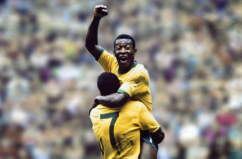 Pelé nella squadra nazionale brasiliana