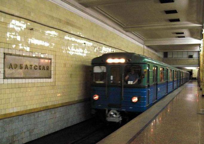 Linea della metropolitana Arbatskiy Pokrovskaya