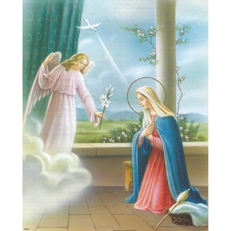 Maryja Panna i Archanioł
