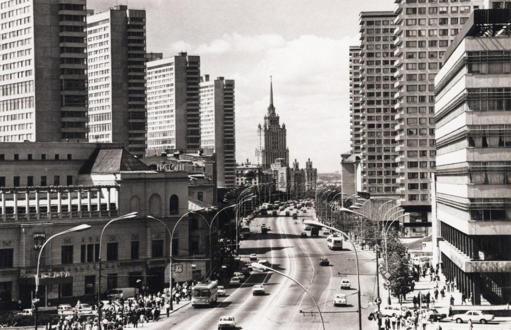 architettura di Mosca 1960