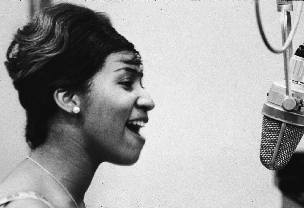 Aretha Franklinová na počátku 60. let