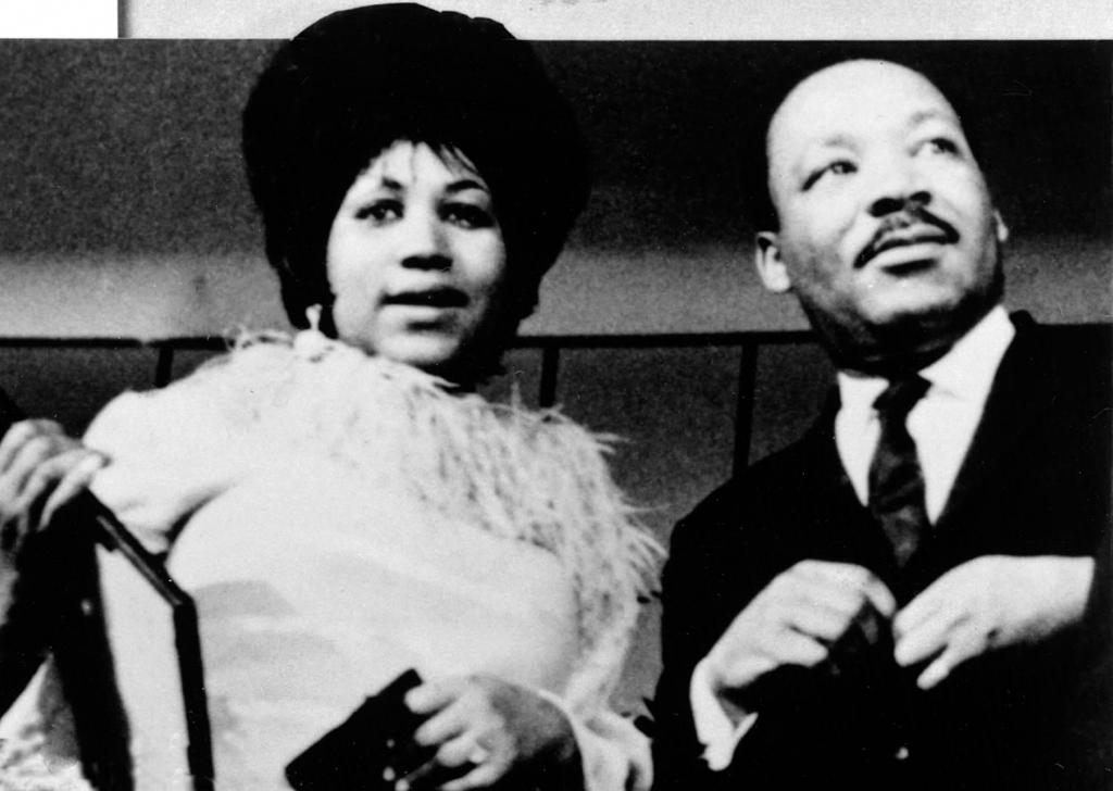 Aretha Franklin i Martin Luther King