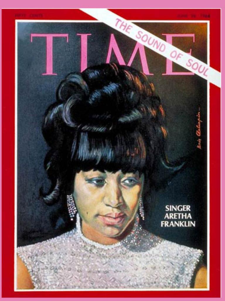 Časopis časopisu Cover s portrétem Franklin