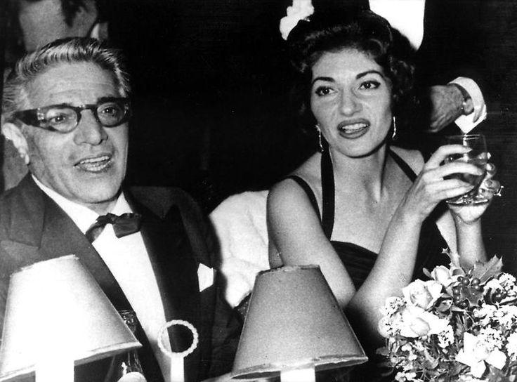 Maria Callas e Aristotle Onassis Love Story