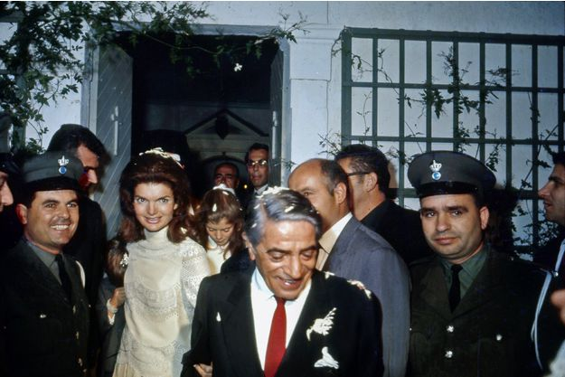Jacqueline Kennedy in Aristotel Onassis