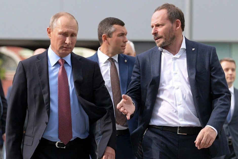 Arkady Volozh e Putin