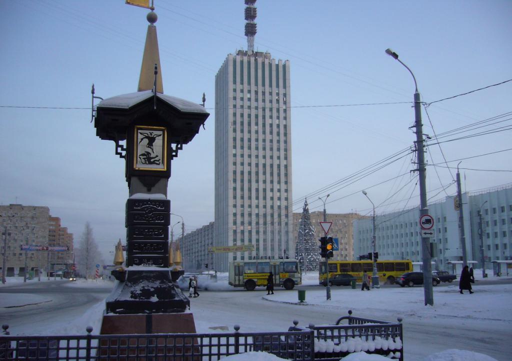 Паметник в Архангелск