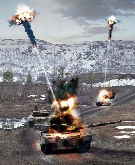 Test del carro armato Armat