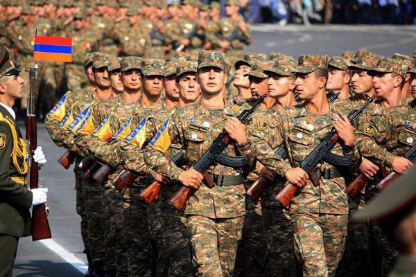 Vojska v Armeniji