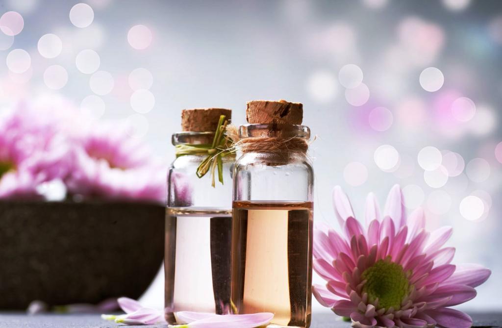 rodzaje aromatycznych olejów