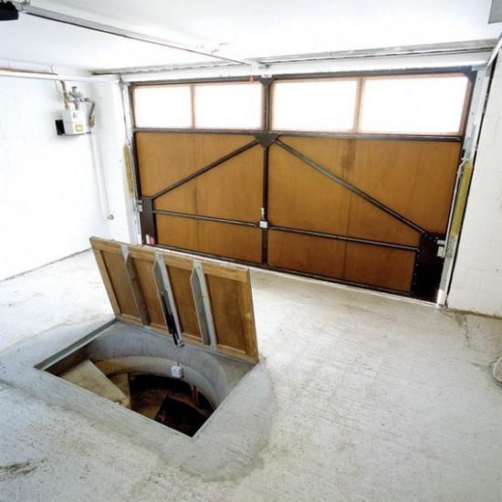 sistemazione in cantina nel garage