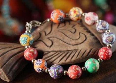 bransoletka z gliny polimerowej