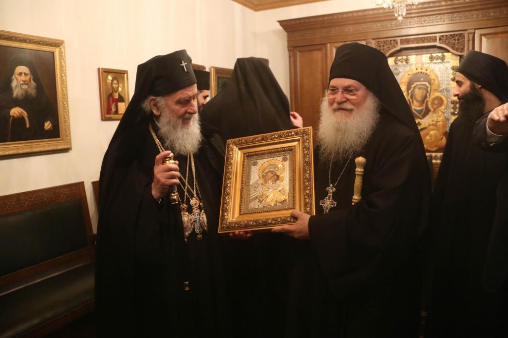 Ortodoxní mnichové