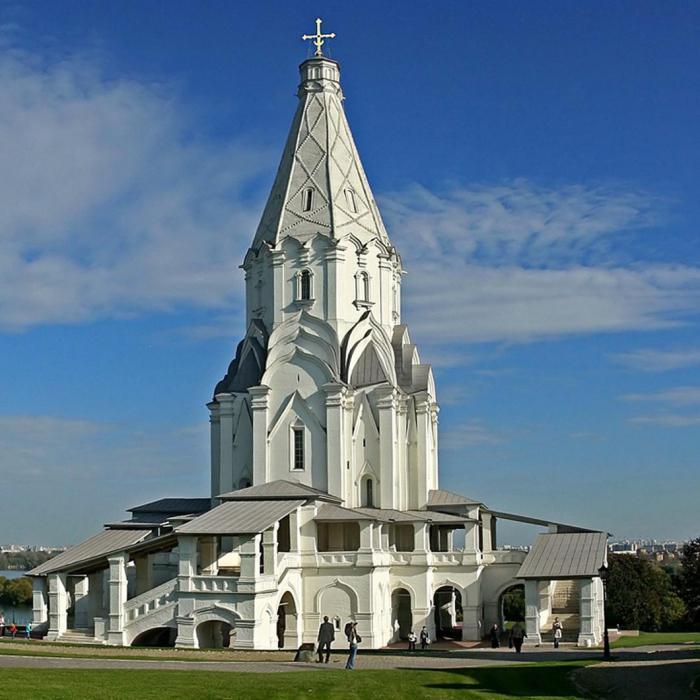 Църквата на Възнесението на градинското поле