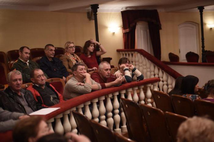 Трупа на Астраханския драматичен театър