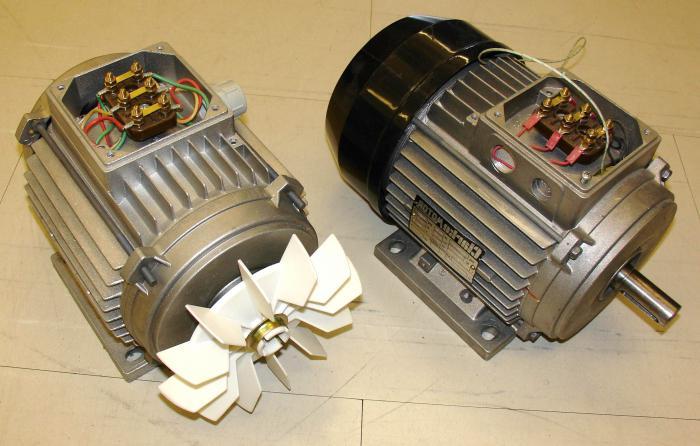 motore asincrono trifase