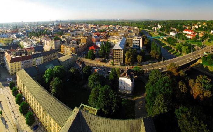 Znamenitosti Ostrave, Češka