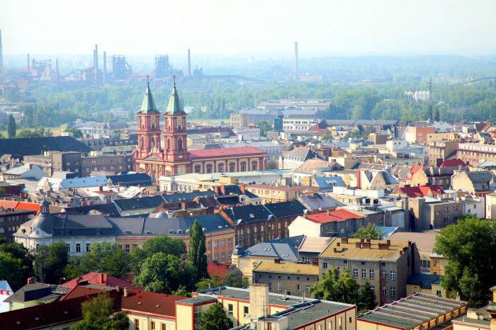 Priljubljene znamenitosti Ostrava na Češkem