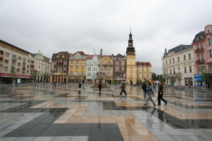 Znamenitosti Ostrava Češka Opis