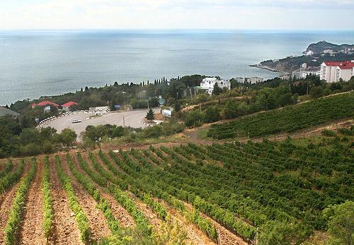 Sudak, Crimea, punti panoramici