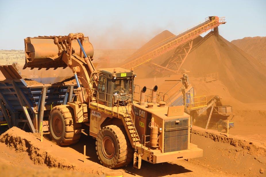 Těžba austrálie