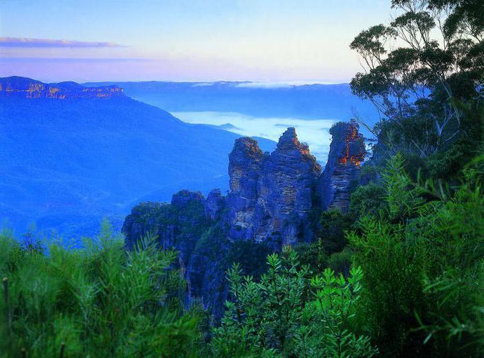 Аустралија Плаве планине