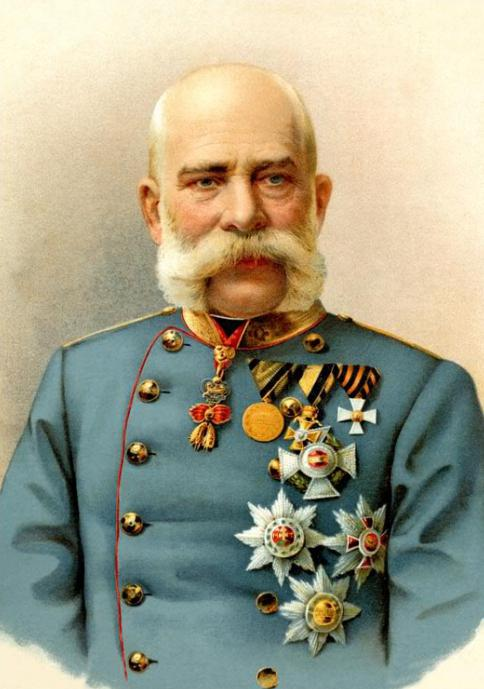 Imperatore austriaco Francesco Giuseppe