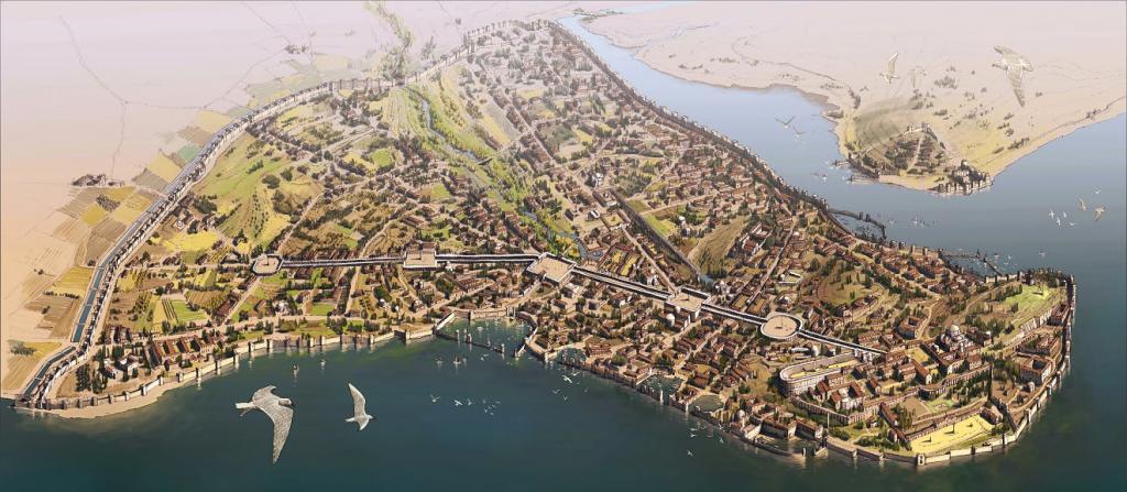 Carigrad - glavni grad Bizanta