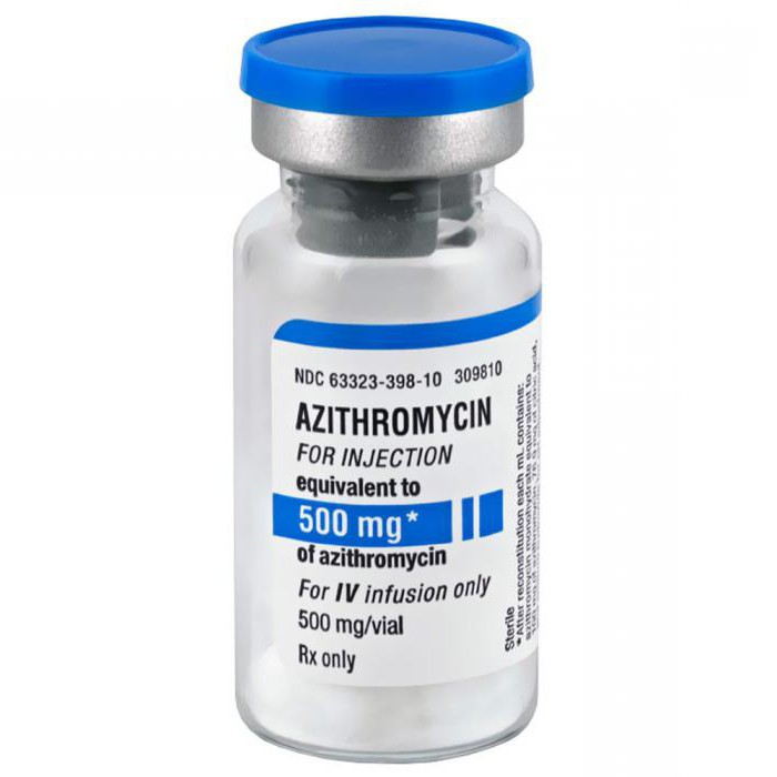 azitromicina iz čega
