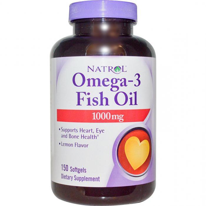 omega 3 istruzioni