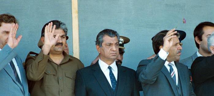 Babrak Karmal među stranačkim drugovima