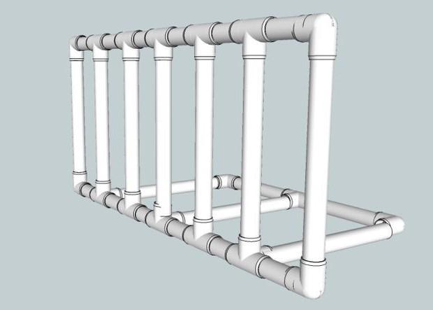 Схема монтаже пластичне баријере