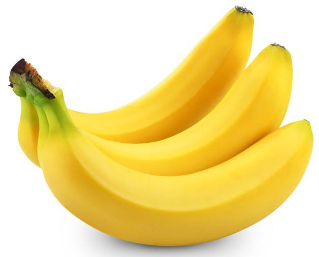 Vsebnost kalorij, posušenih banan
