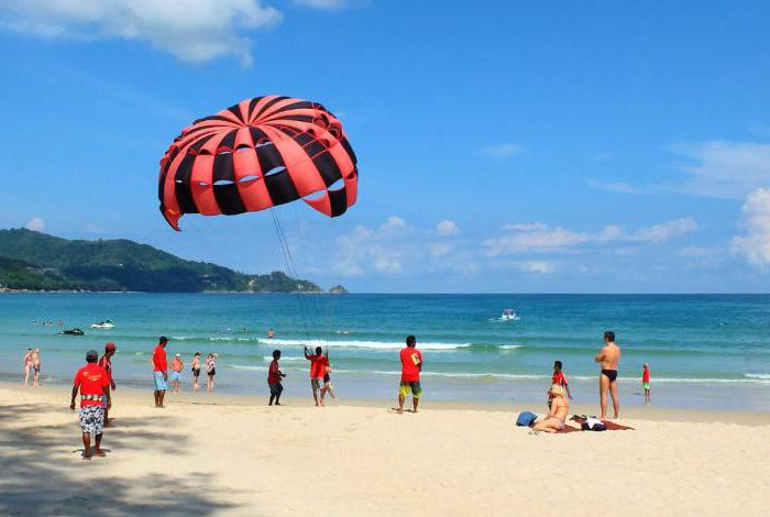 Bang Tao plaža phuket pregledi fotografije