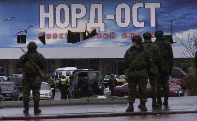 L'attacco terroristico a Dubrovka