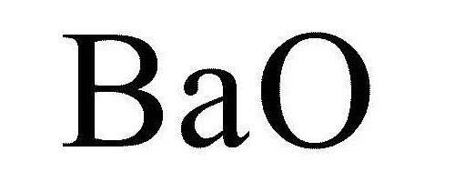 formula di ossido di bario