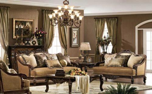 barokni interijer apartmana