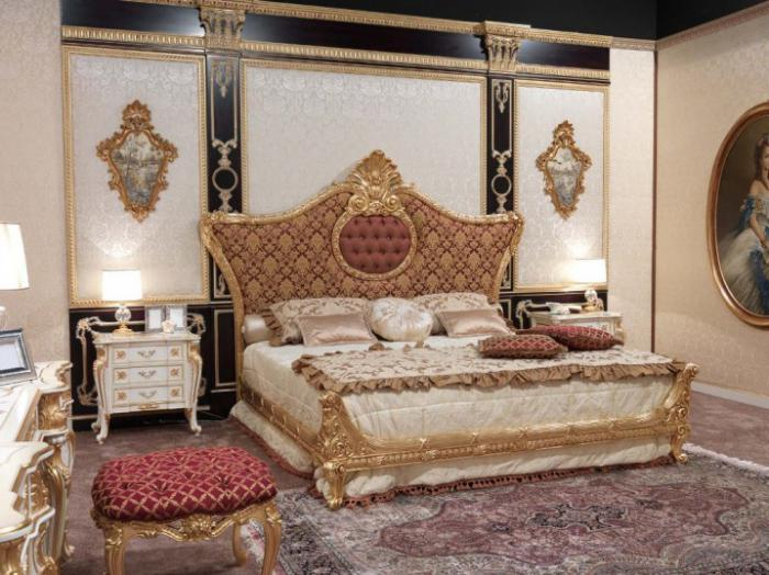 barokne spavaće sobe