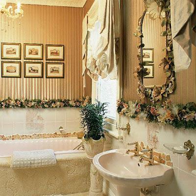 Stile barocco in bagno