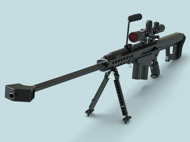 барретт м82