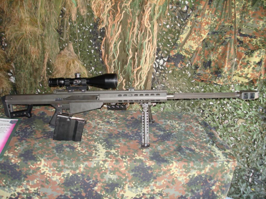 Барретт снајперска пушка великог калибра