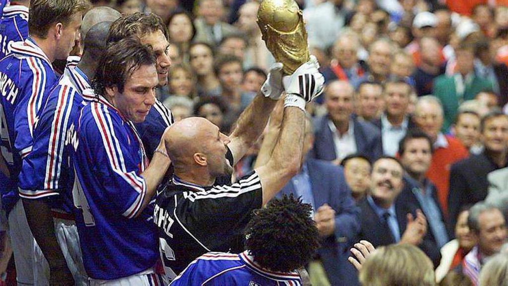 Fabien Barthez World Cup 1998