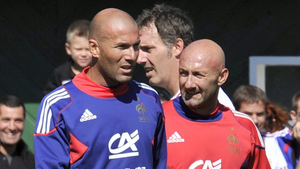 Fabien Barthez i Zinedine Zidane