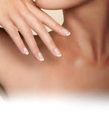 солена баня за нокти