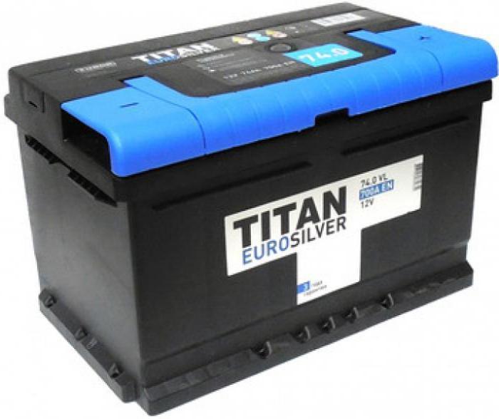 Recensioni di titanio della batteria