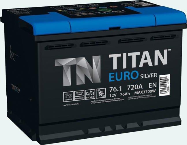Recensioni Battery Titan Euro Silver