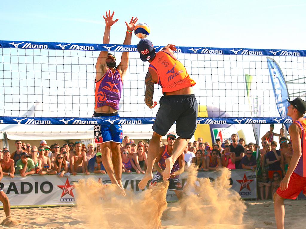 competizione di beach volley