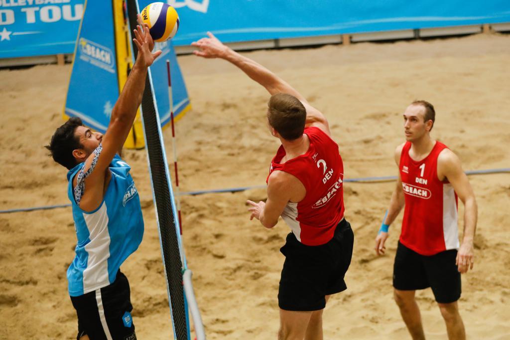 beach volley maschile